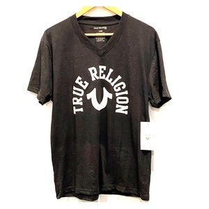 NEW True Religion Men's V Neck Tee